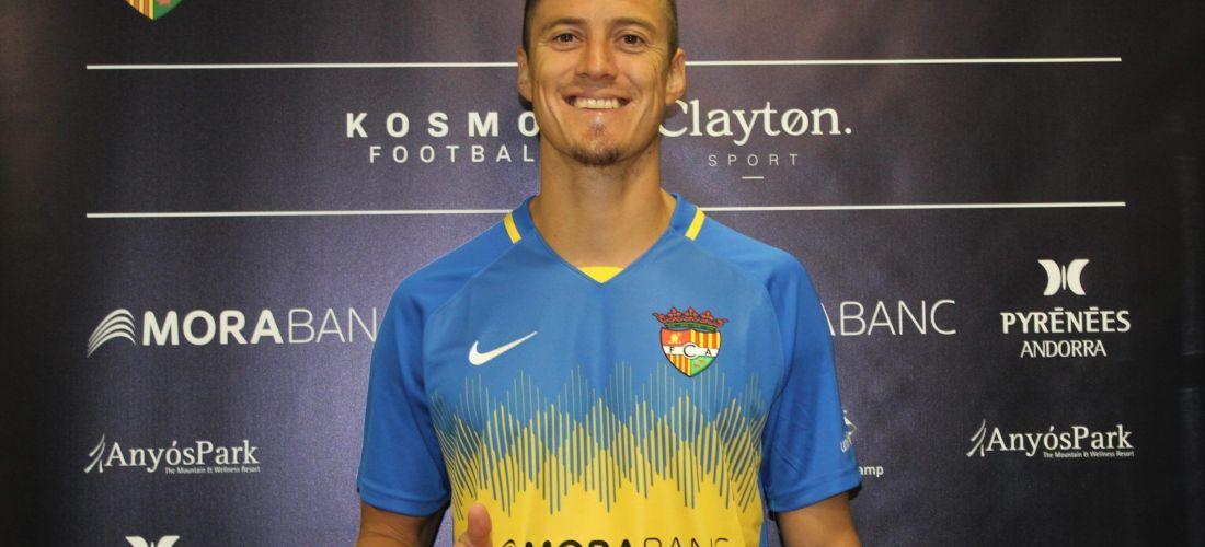 El central argentí Martín Mantovani, nou jugador de l'FC Andorra