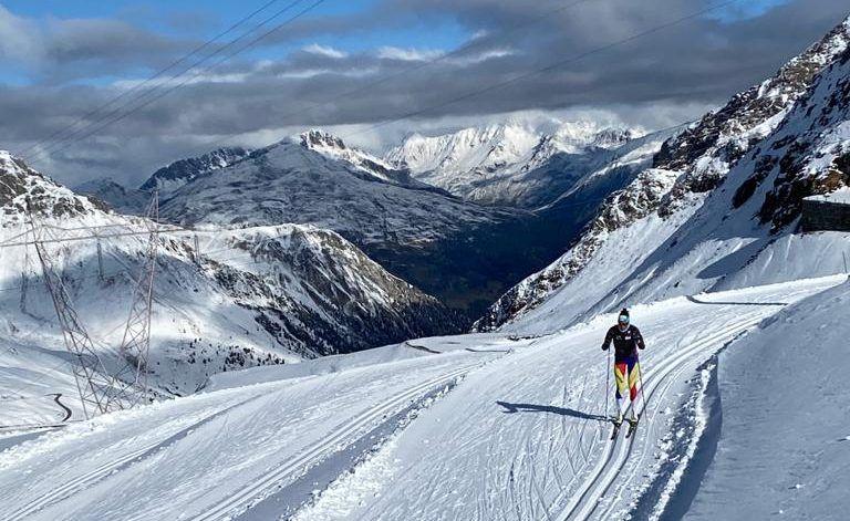 Els esquiadors del NEC – La Rabassa d'estada a Passo Stelvio (Itàlia)