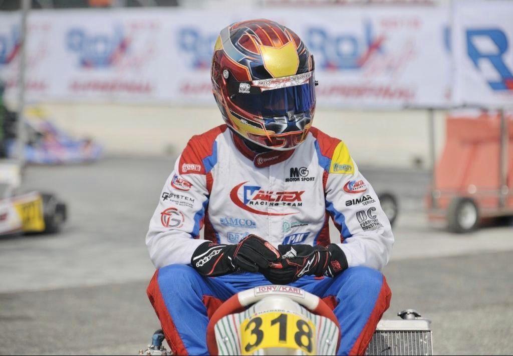 Àlex Machado vol sentir el Gran Carlemany a Franciacorta Karting Track