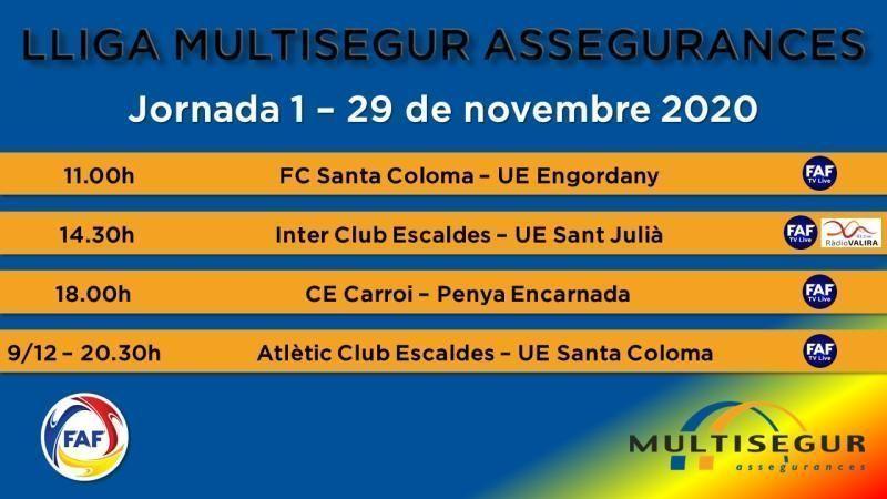 L'Inter Escaldes el favorit per aconseguir el títol de la Lliga Multisegur 2020-21