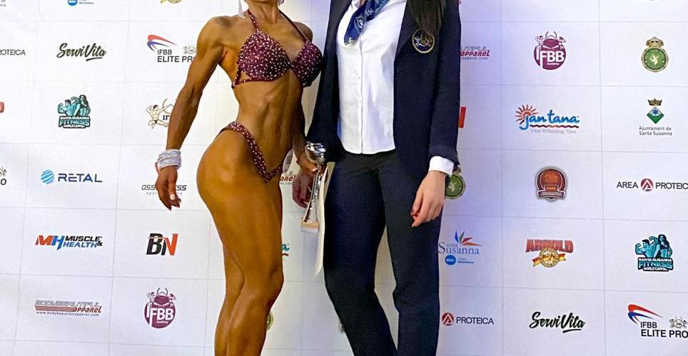4rt i 8è lloc per Krylo i Almagro, respectivament, en el mundial de Fitness