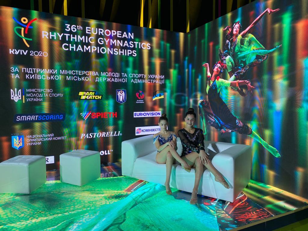 Amorós i Miquel, preparades per competir a Kiev
