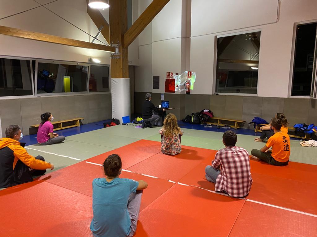 Sessió als comissaris esportius de judo en el CTO