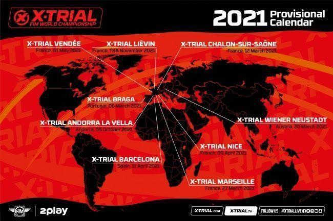 Torna a sortir un nou calendari provisional de l'X-Trial 2021