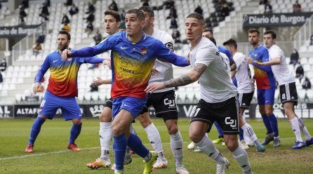 Vist i no vist de l'FC Andorra a la Copa al caure 2-0 al Plantío davant el Burgos