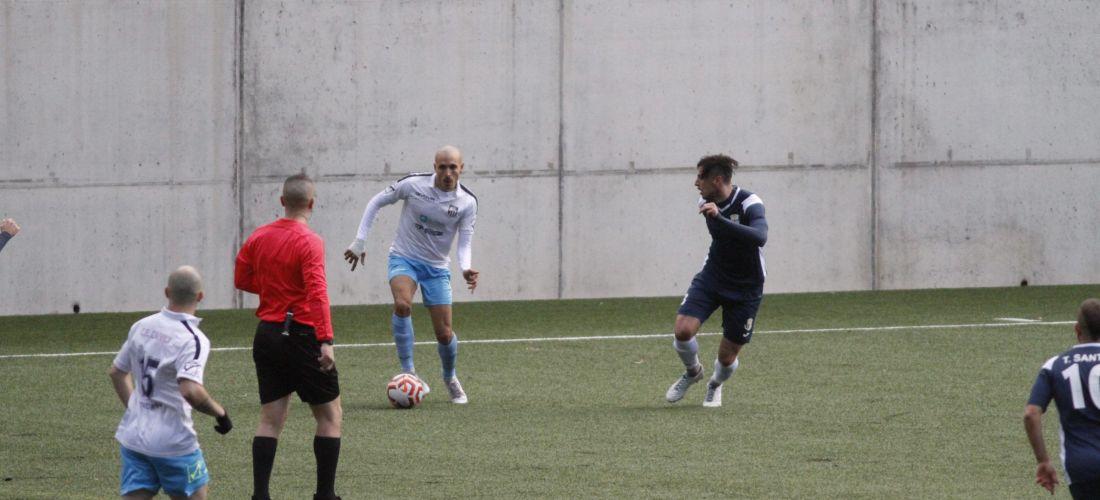 Arriba l'aturada de Nadal amb l'FC Santa Coloma, líder