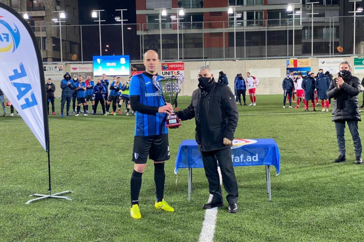 L'Inter guanya la Supercopa al derrotar el FC Santa Coloma 2-0