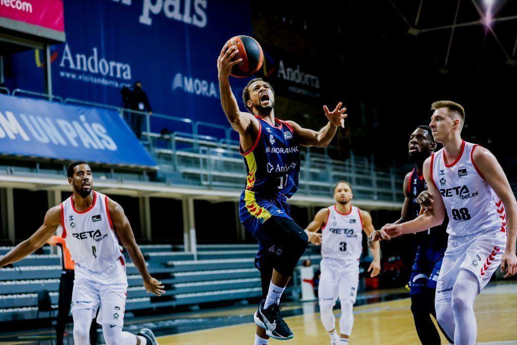 Victòria del Morabanc Andorra 72-70 davant Bilbao
