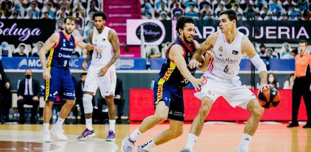 El Morabanc Andorra cau davant el Madrid 69-75 i s'acomiada de la Copa
