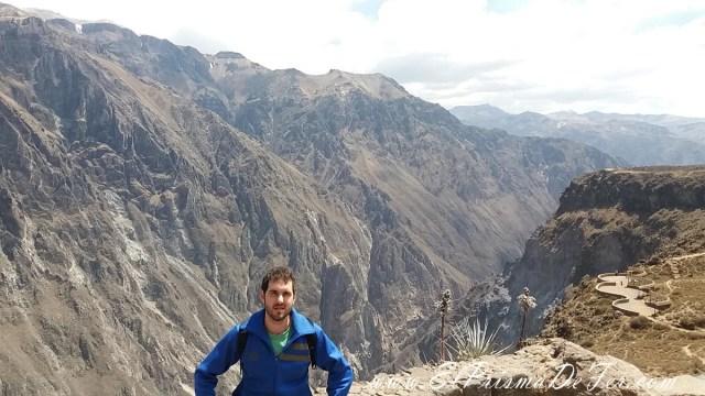 Antes de arrancar el trekking en el Cañón del Colca