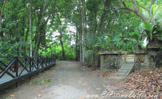 Comienzo del trekking al Parque Tayrona