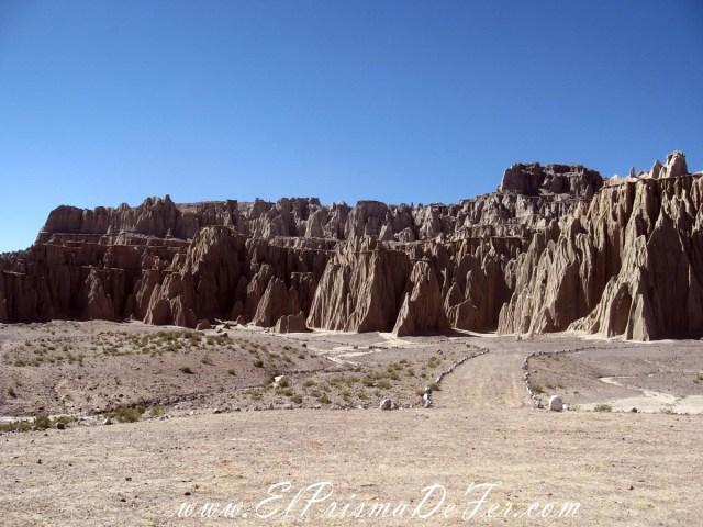 El Sillar en el Salar de Uyuni - Bolivia