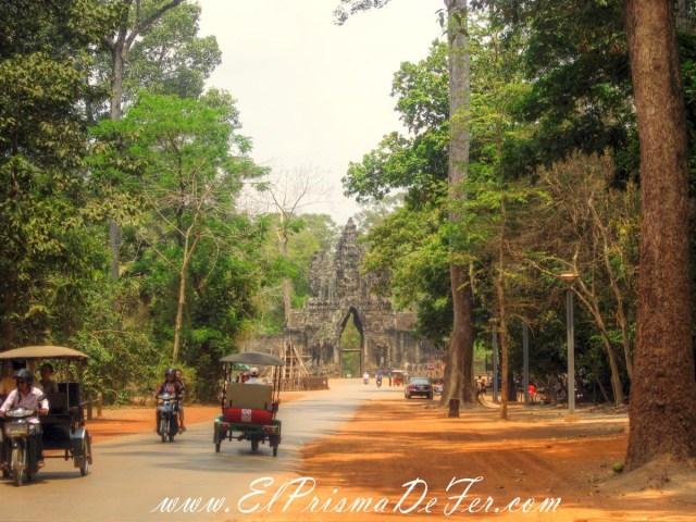 Puerta Sur de Angkor Thom