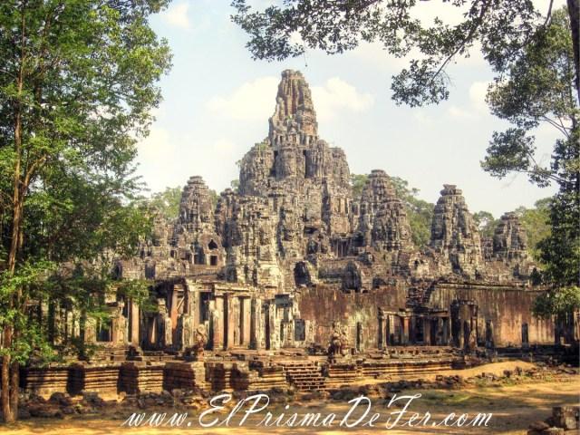 Templo Bayón en Angkor Thom