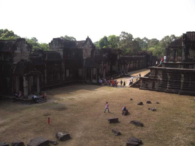 Patio interno de Angkor Wat
