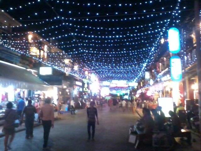 Noche en Siem Riep