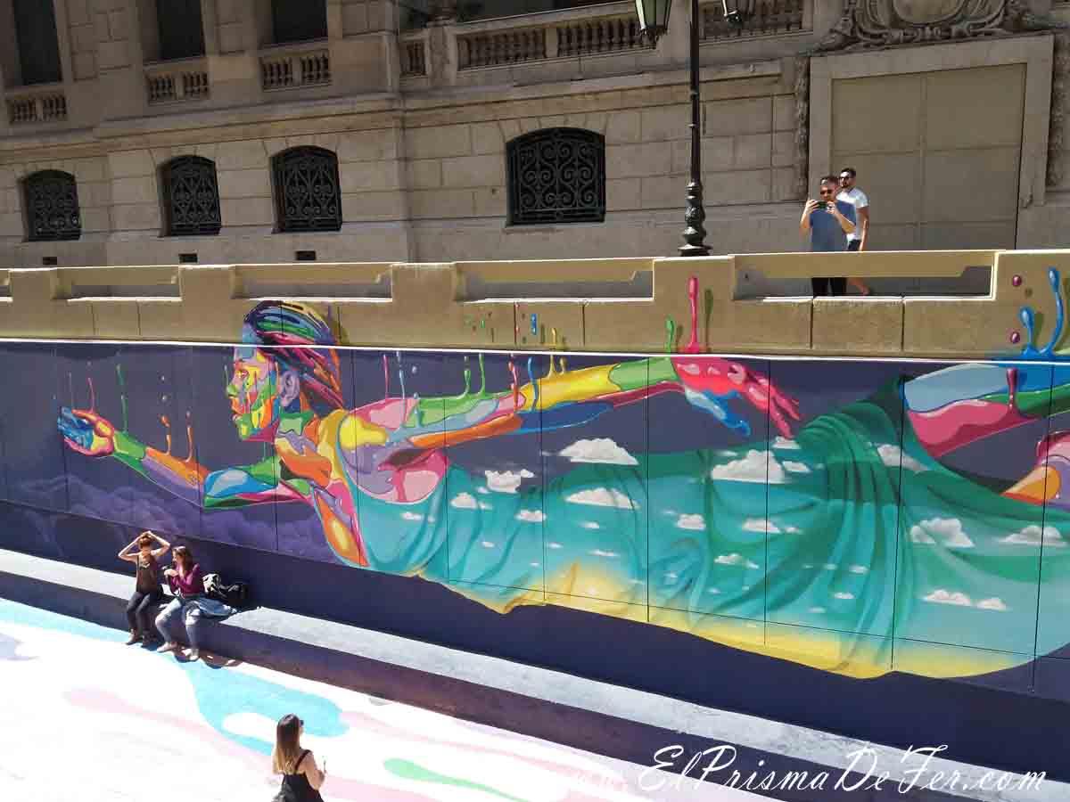 Arte callejero de Santiago de Chile