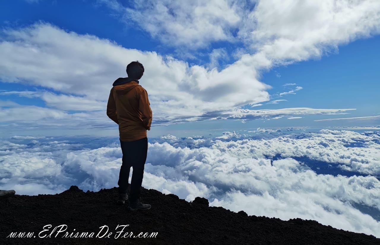Vistas desde Monte Fuji
