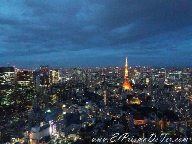 Vista desde el mirador Mori Building en Roppongi Hills
