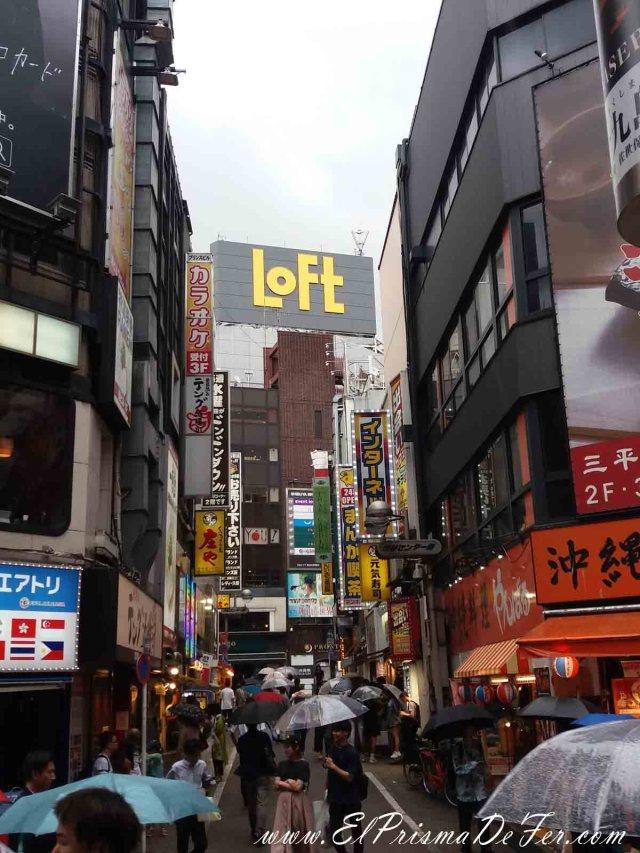 Centro comercial de Shibuya