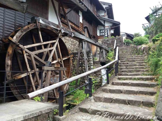 Pueblo de Magome (inicio de la Ruta Nakasendo)