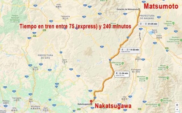Como ir a Magome desde Matsumoto