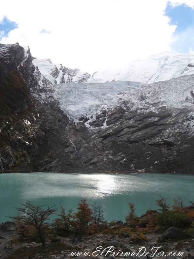 Glaciar y Laguna Huemul en el Chaltén