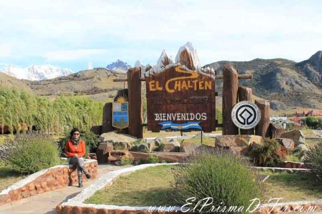 Entrada al Pueblo del Chaltén