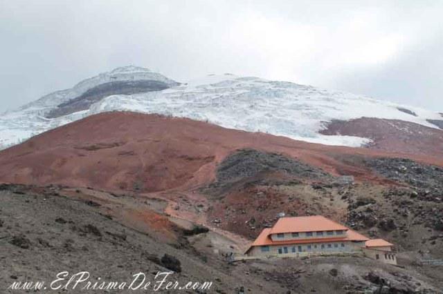 Refugio Jose Rivas a 4.864 mts.