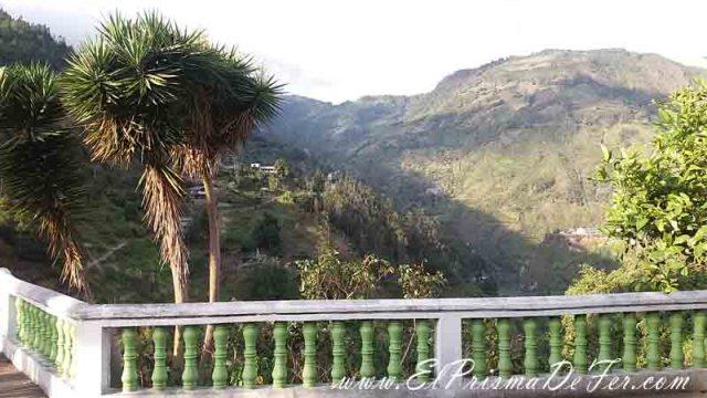 Vistas desde la ciudad de Baños de Agua Santa
