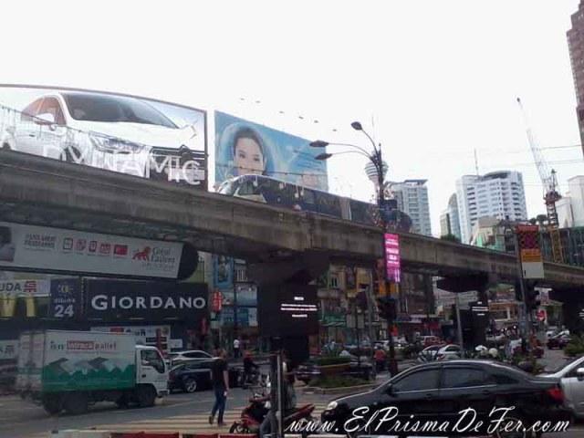 Barrio comercial Bukit Bintang de Kuala Lumpur