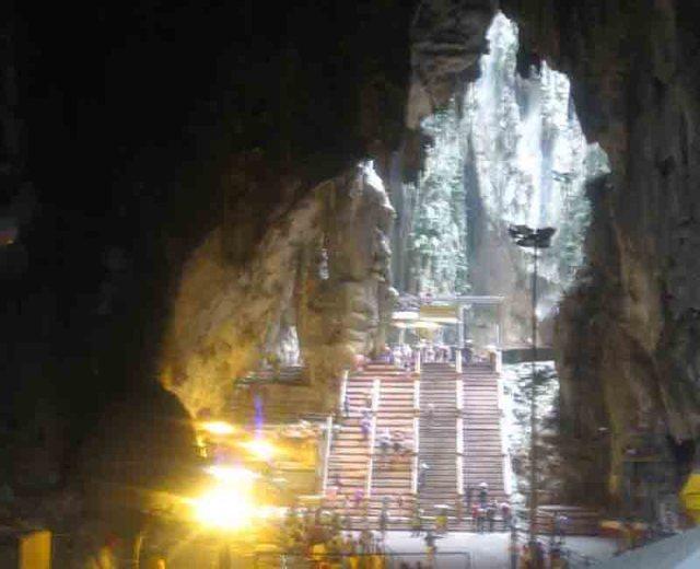 Templo interior en Batu Caves