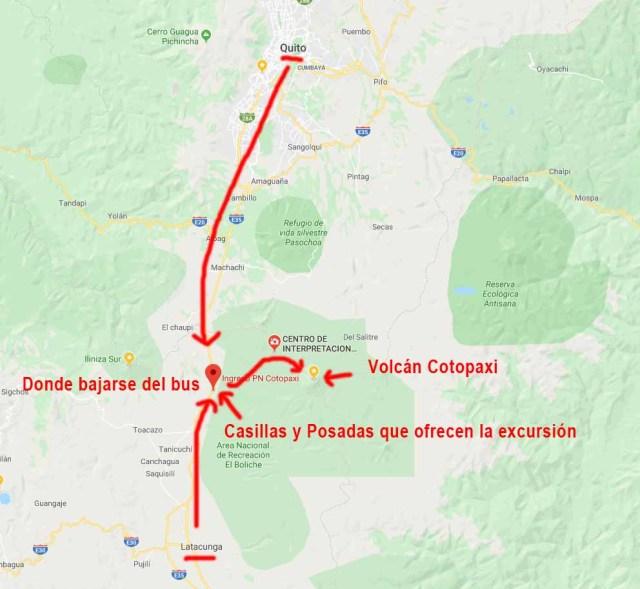 Como llegar al Parque Nacional Cotopaxi