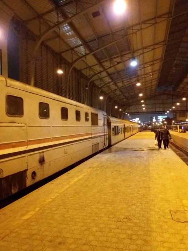 Tren que va de El Cairo a Luxor y Asuan