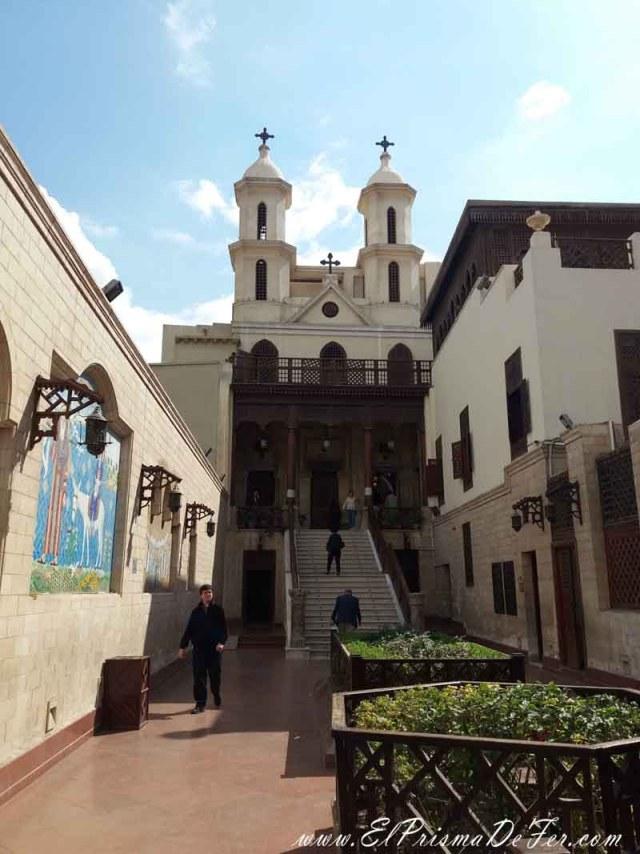 Iglesia colgante del Barrio Copto de El Cairo