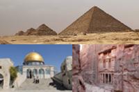 Itinerario de un viaje por Egipto, Jordania e Israel