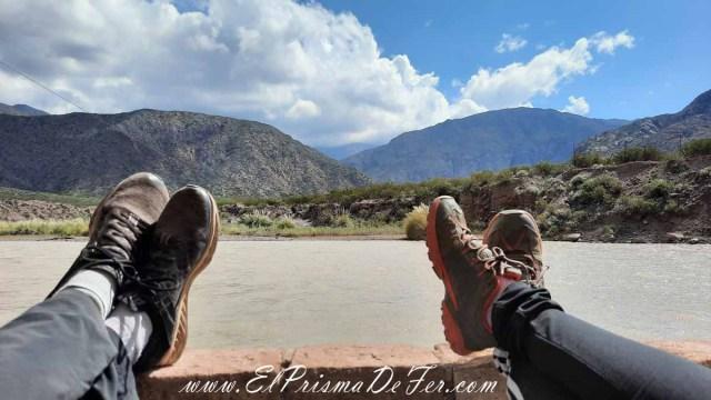 Relax sobre el Río Mendoza