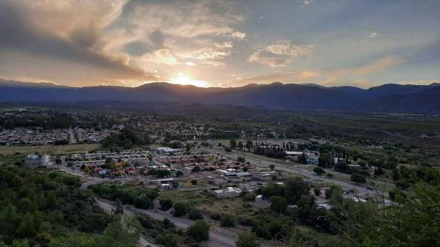 Vistas desde el Cerro de la Gloria en el Parque San Martín