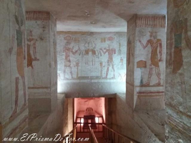 Tumba de Tausert-Setnakht, en el Valle de los Reyes, Luxor