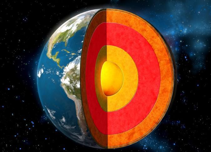 La Tierra en capas