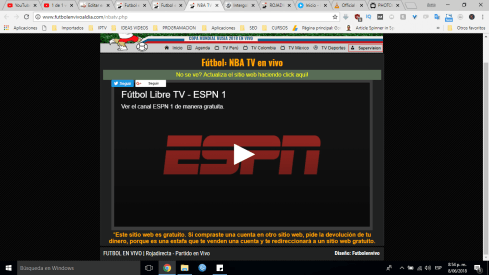 Streaming futbol en vivo al dia
