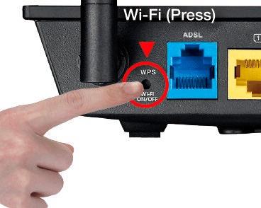 Presione WPS en su Router