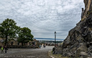 Panorámica desde el Castillo de Edimburgo