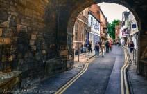 Entrada a York