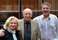 Profesor Bartaburu y padres de Saletti