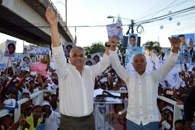 Franciso Fernández proclamado candidato alcalde del PRD en SDN