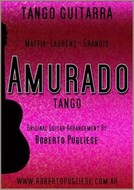 Amurado tango partitura de guitarra