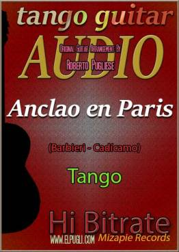 Anclao en Paris mp3 tango en guitarra