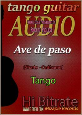Ave de paso mp3 tango en guitarra de Roberto Pugliese