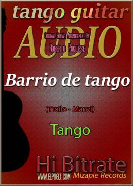 Barrio de tango mp3 tango en guitarra Roberto Pugliese